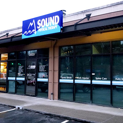 outside view of Sound Physical Therapy